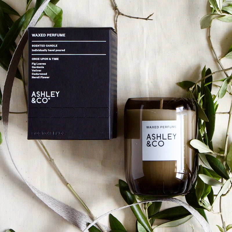 ASHLEY & CO WAXED PERFUME SCENTED CANDLE