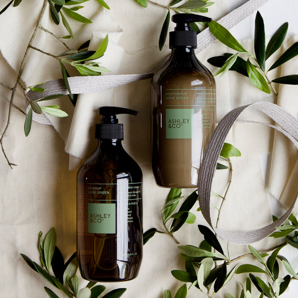 ASHLEY & CO HAND & BODY WASH & CREAM
