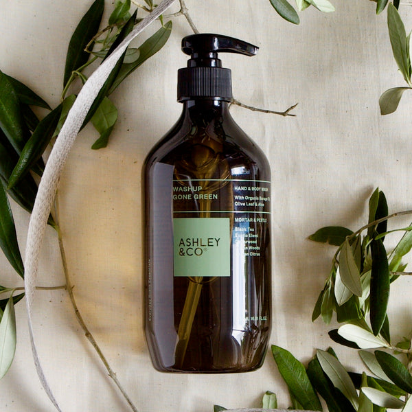 ASHLEY & CO GONE GREEN HAND & BODY WASH