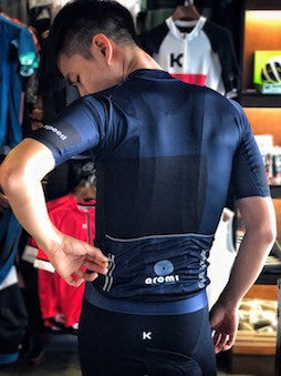 Caffe De Aromi sponsors Concept Speed cycling club in Bangkok Thailand