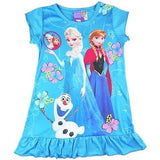 Disney Frozen Anna Elsa Olaf Nighties (Available in Purple or Blue)