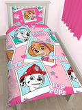 Paw Patrol 'Stars' Single Duvet/Quilt Cover Set