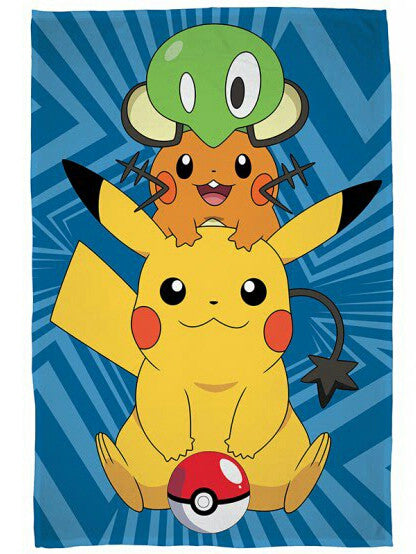 Pokemon 'Catch' Fleece Blanket