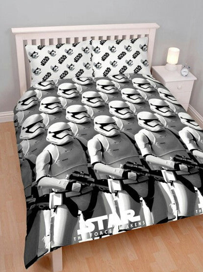 Star Wars Episode VII Awaken Double Duvet/Quilt Cover Set
