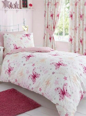 Make A Wish Butterfly Single Duvet/Quilt Cover Set