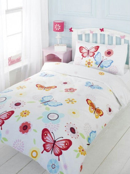 Butterflies Single Duvet/Quilt Cover Set
