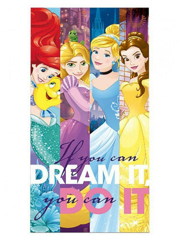 Disney Princess Dream It Do It Towel