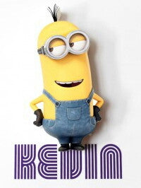 Despicable Me Kevin LED Wall Light (RRP $30)
