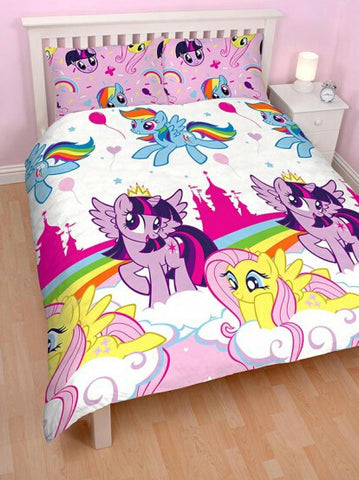 My Little Pony 'Equestria' Double Duvet/Quilt Cover Set