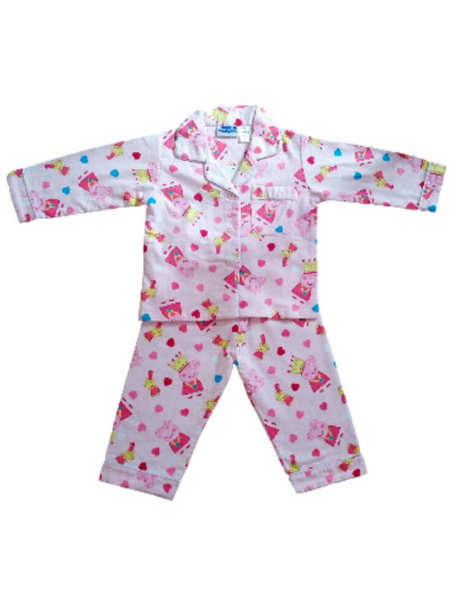 Peppa Pig 'Princess' Winter Pyjamas
