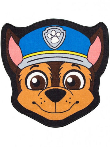 Paw Patrol Chase Shaped Rug