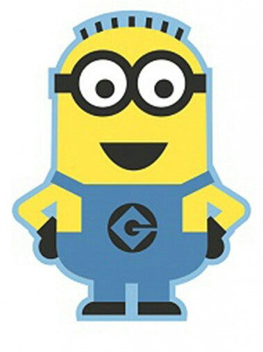 Despicable Me Minion Shaped Rug