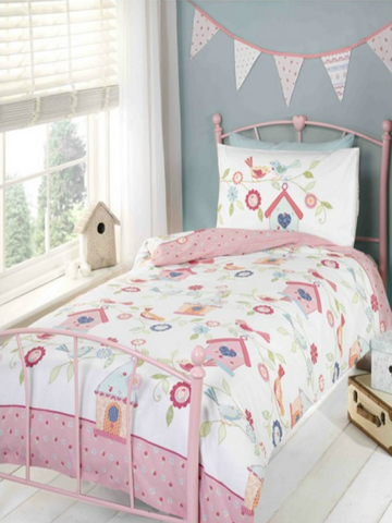 Birdhouse Single Duvet/Quilt Cover Set