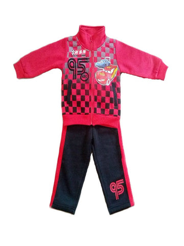 Disney Cars '95' Winter Fleece Tracksuit
