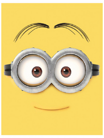 Despicable Me 'Minion Face' Fleece Blanket