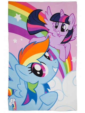 My Little Pony 'Equestria' Fleece Blanket