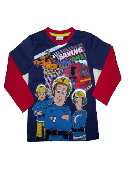 Fireman Sam 'Saving the Day' Winter Tee
