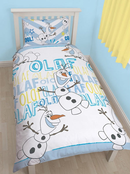 Disney Frozen 'Olaf' Single Duvet/Quilt Cover Set