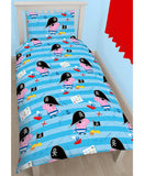 George Pig 'Pirate' Single Duvet/Quilt Cover Set