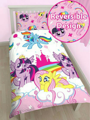 My Little Pony 'Equestria' Single Duvet/Quilt Cover Set