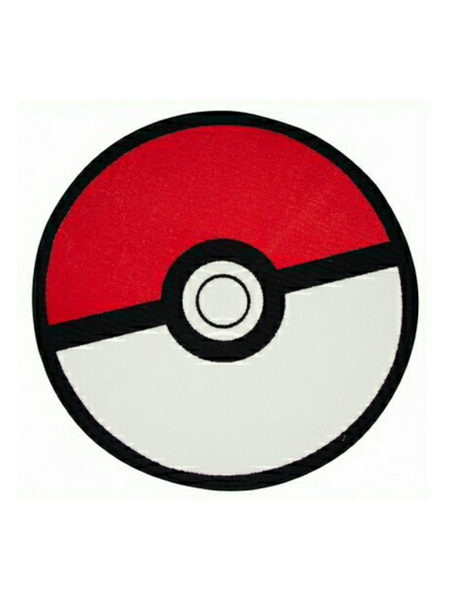 Pokemon Catch Shaped Rug