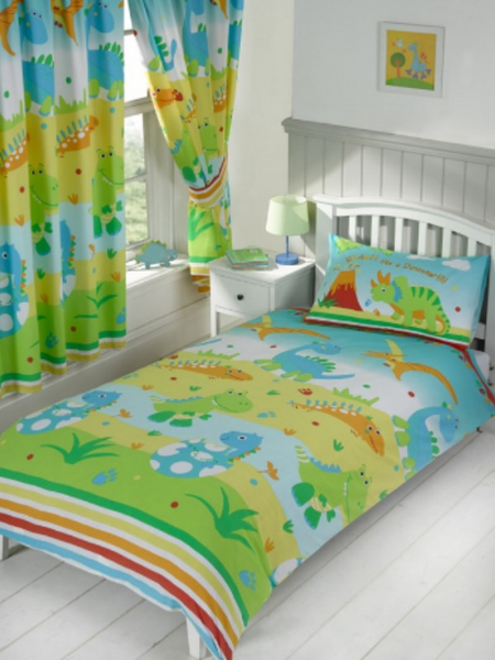 Roar like a Dinosaur Junior Duvet/Quilt Cover Set
