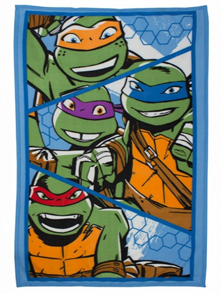 TMNT 'Dimension' Fleece Blanket
