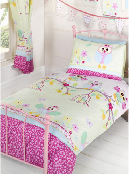 Twit Twoo Owl Single Duvet/Quilt Cover Set