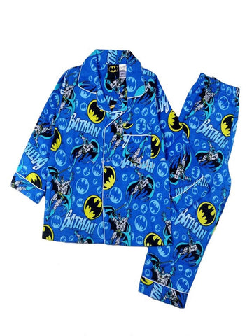 Batman Blue Winter Pyjamas