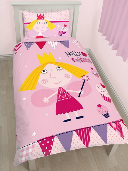 Ben and Holly 'Cupcake' Single Duvet/Quilt Cover Set