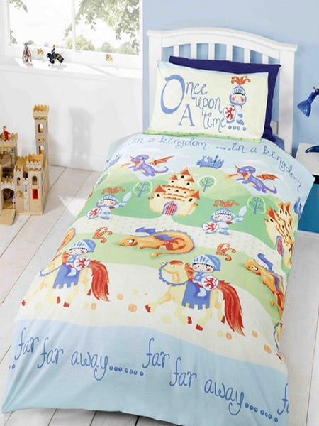 Camelot Knights and Dragons Single Duvet/Quilt Cover Set