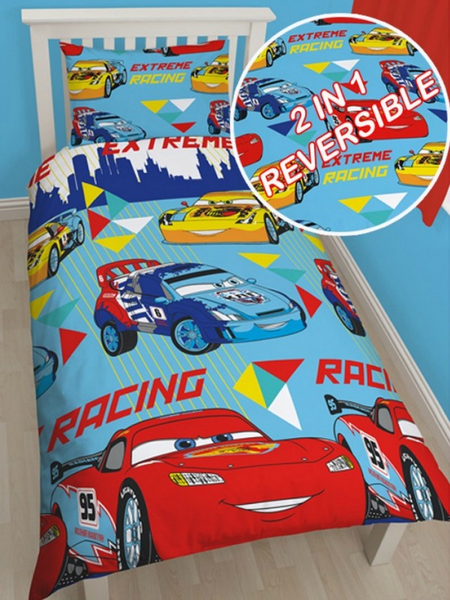 Disney Cars 'Champ' Single Duvet/Quilt Cover Set