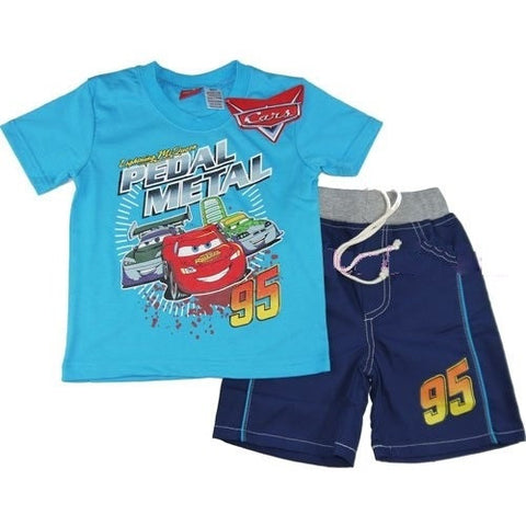 Disney Cars Pedal to the Metal Tee and Shorts