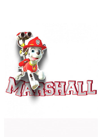 Paw Patrol 'Marshall' LED Wall Light (RRP $30)