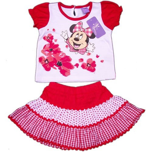 Minnie Mouse Red 2 Piece Set