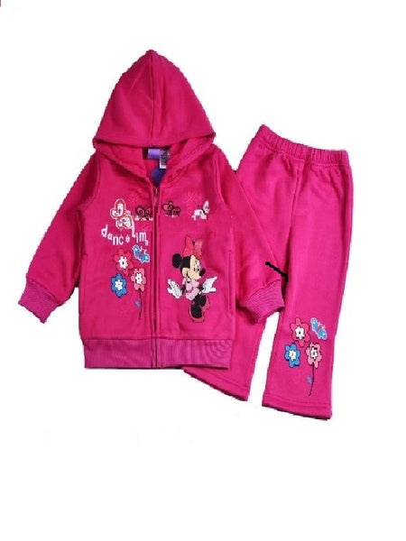 Minnie Mouse Hot Pink Fleece Tracksuit
