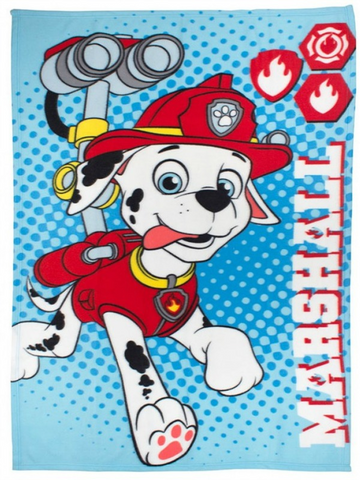 Paw Patrol 'Marshall' Fleece Blanket