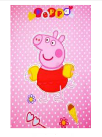 Peppa Pig 'At the Beach' Fleece Blanket