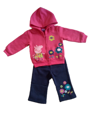 Hot Pink Peppa Pig Tracksuit