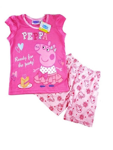 Peppa Pig 'Ready for the Party' Summer Pyjamas