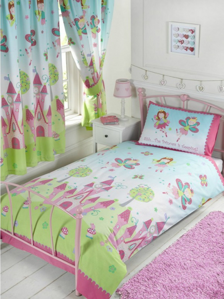 Princess is Sleeping Single Duvet/Quilt Cover Set