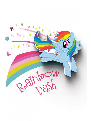 My Little Pony 'Rainbow Dash' LED Wall Light (RRP $30)