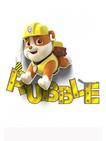 Paw Patrol 'Rubble' LED Wall Light (RRP $30)