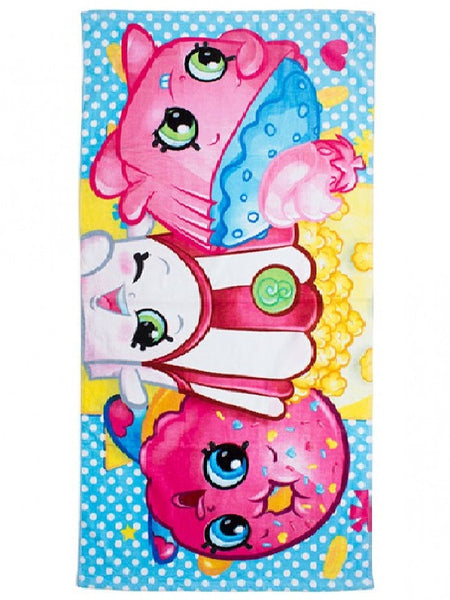 Shopkins 'Shopaholic' Towel