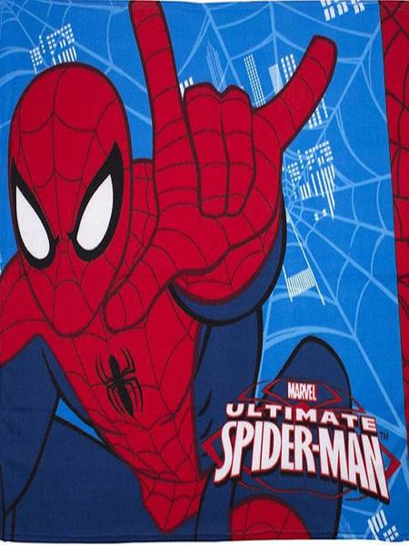 Spider Man Ultimate 'City' Fleece Blanket