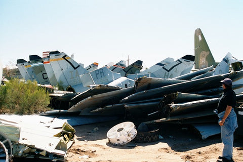 MotoArt airplane boneyard