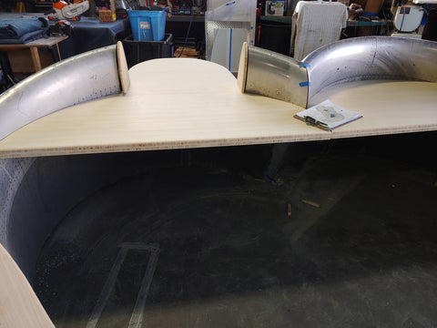 double DC-8 cowling ADA desk
