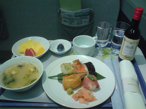 Business class meal Korean Air