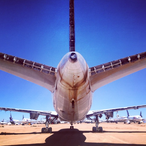 airplane boneyard photo