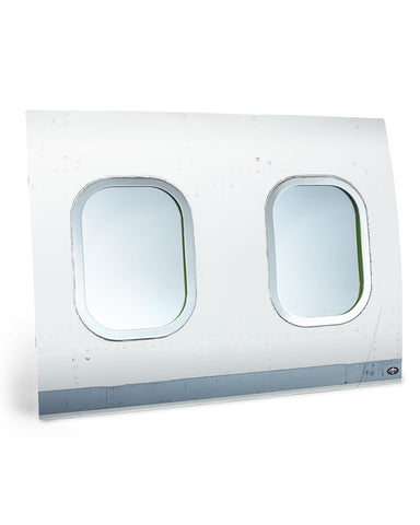 double fuselage window mirror